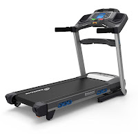 Nautilus T618 Treadmill, Performance Series, with 3.5 chp motor, 0-12 mph speeds, 0-15% incline, 26 programs