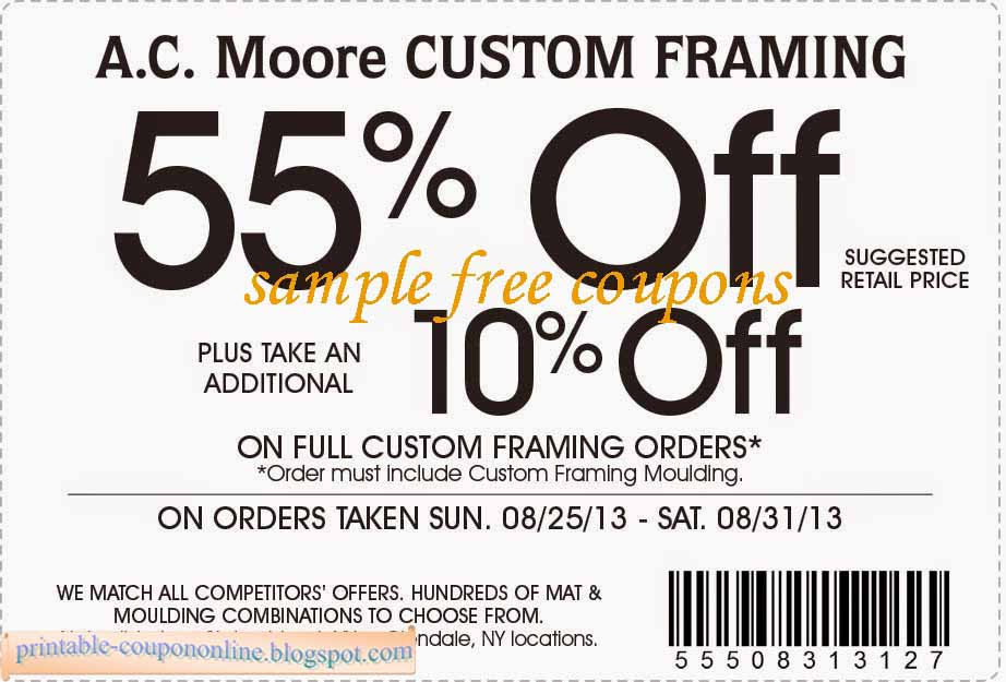 Ac moore coupons 2018 - Save mart coupon policy