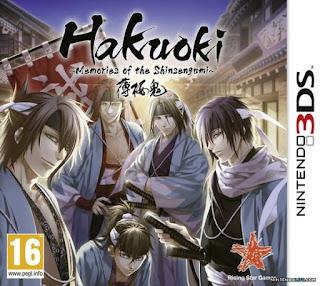 Hakuoki: Memories of the Shinsengumi para a 3DS