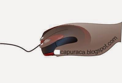 memegang mouse yang baik dan benar