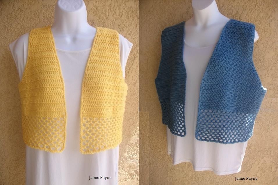 Copper Llama Studio Crochet Vest Ponchos And Shrug Patterns