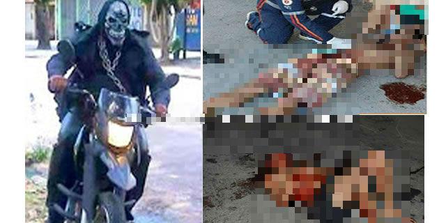 mata vários bandidos em assalto