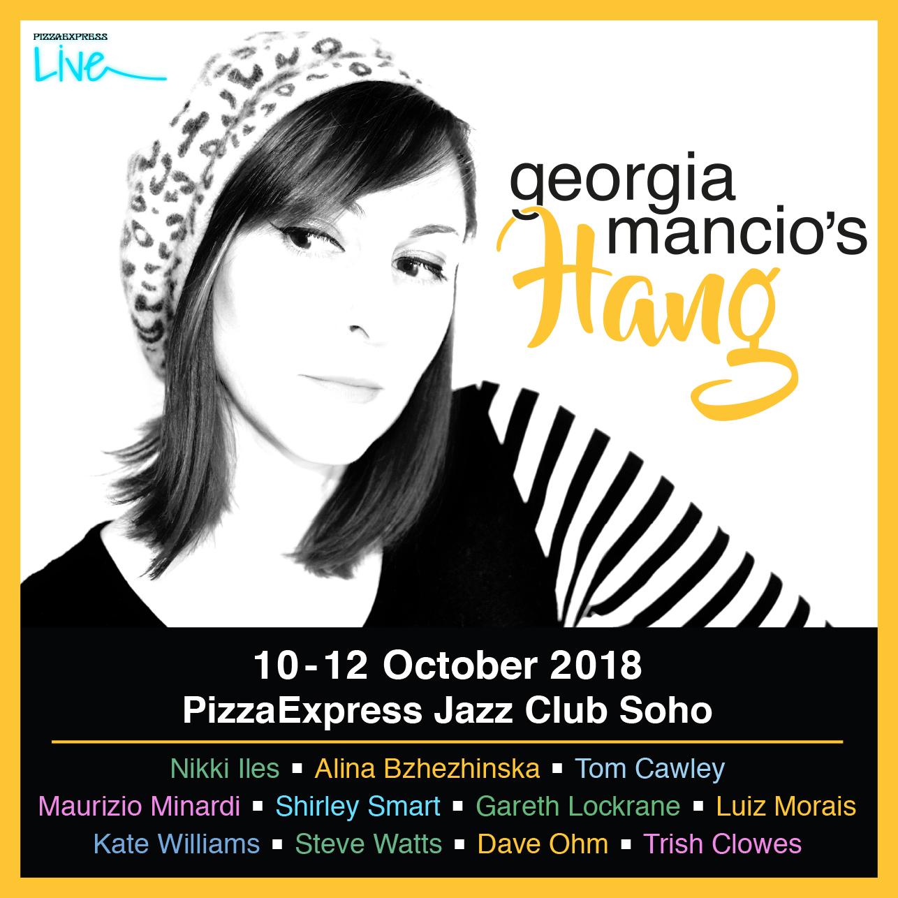 Londonjazz Interview Georgia Mancio Georgia Mancios Hang Pizza