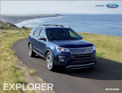 Downloadable 2017 Ford Explorer Brochure
