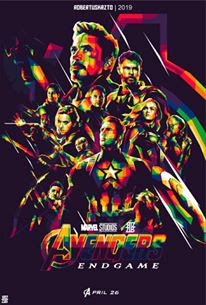 Poster WPAP Film Avengers End Games
