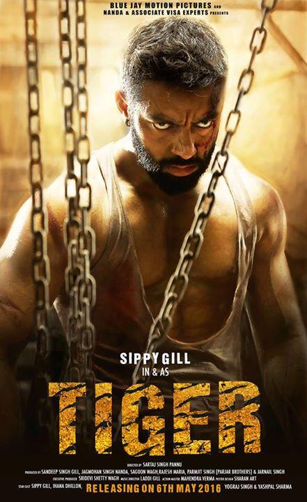 Tiger -Punjabi Movie Star Casts, Wallpapers, Songs & Videos