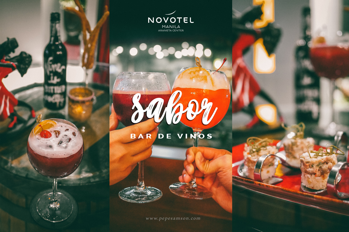 It's Wine O'Clock at Sabor Bar De Vinos | Novotel Manila Araneta Center