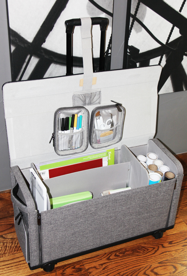 Cricut Rolling Craft Tote