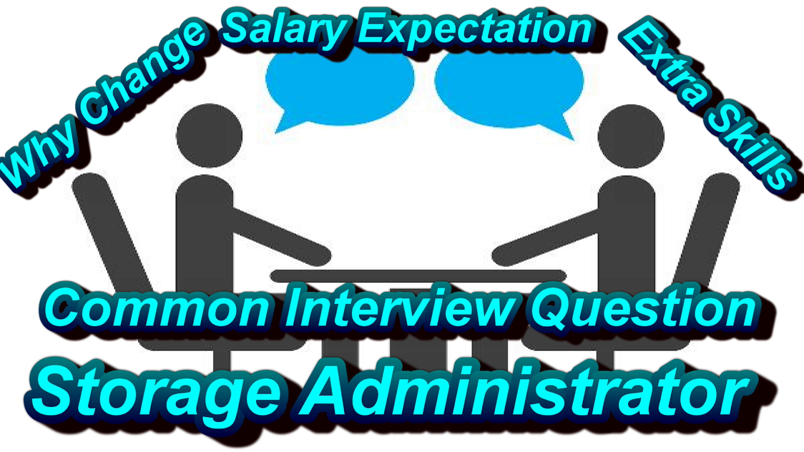 common interview question for storage admin
