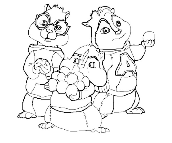 Free Printable Alvin And The Chipmunks Chipwrecked ...