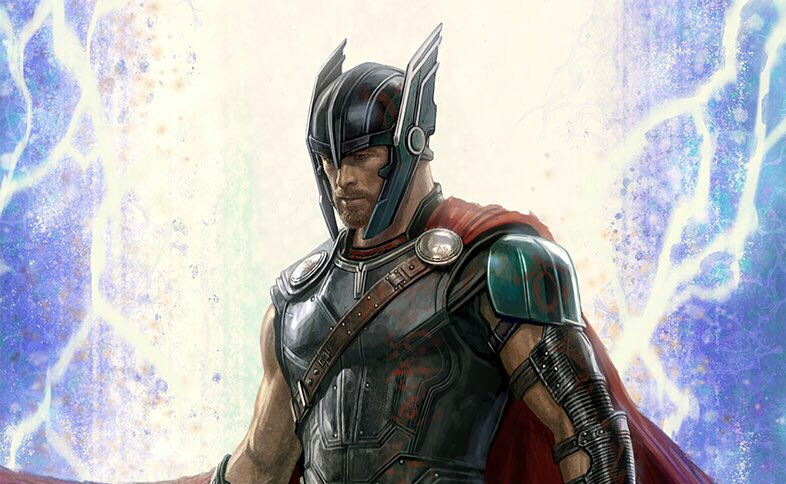 Concept Art Reveals Thor And Hulk New Look For Thor: Ragnarok.
