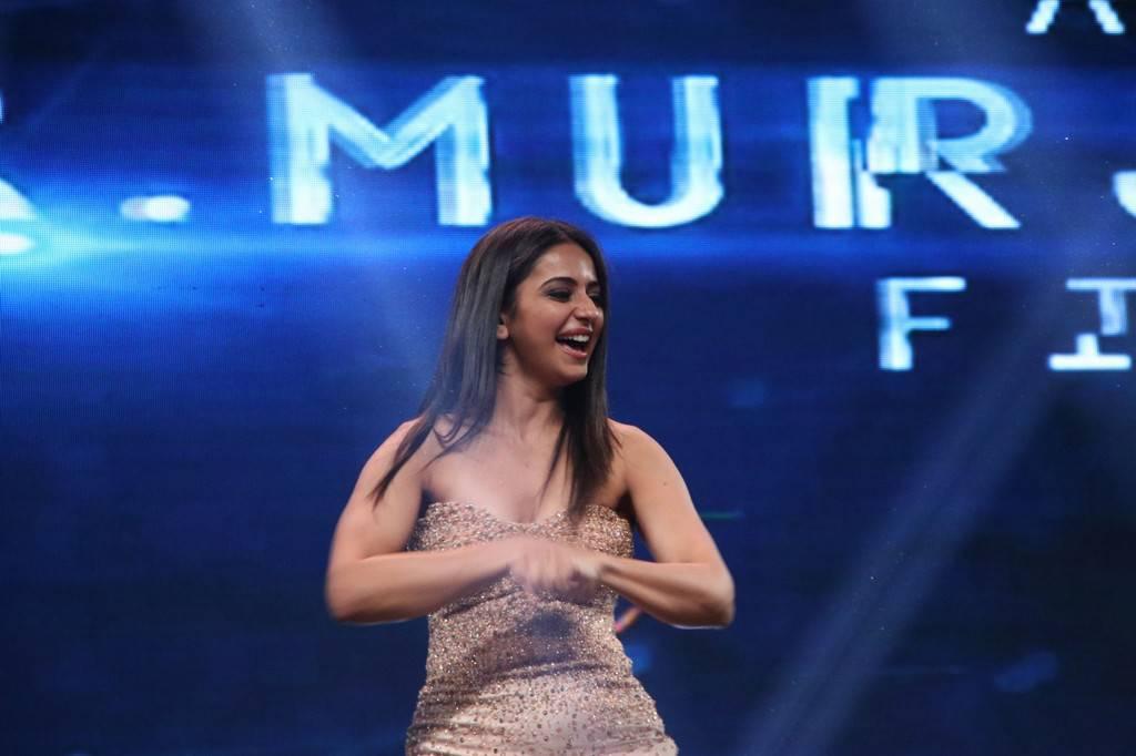 Rakul Preet Singh At Spyder Tamil Movie Audio Launch Stills