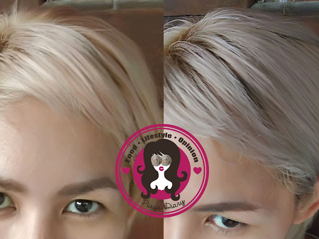 Wella Color Charm T14 Toner Before and After
