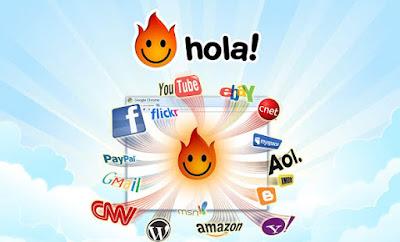 Navegar Anonimo con VPN HOLA