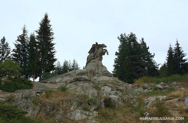 Monumento ecuestre de Gueorgui Benkovski, Koprivshtitsa