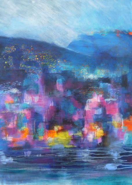 Gwenaelle Péron : Crépuscule peintre contemporaine