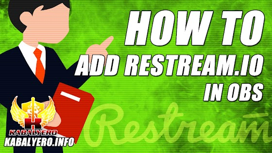 Restream.io Tutorial ★ How To Add Restream.io In OBS