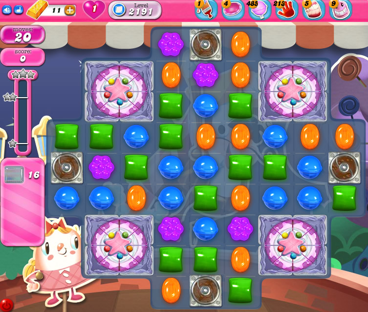 Candy Crush Saga level 2191