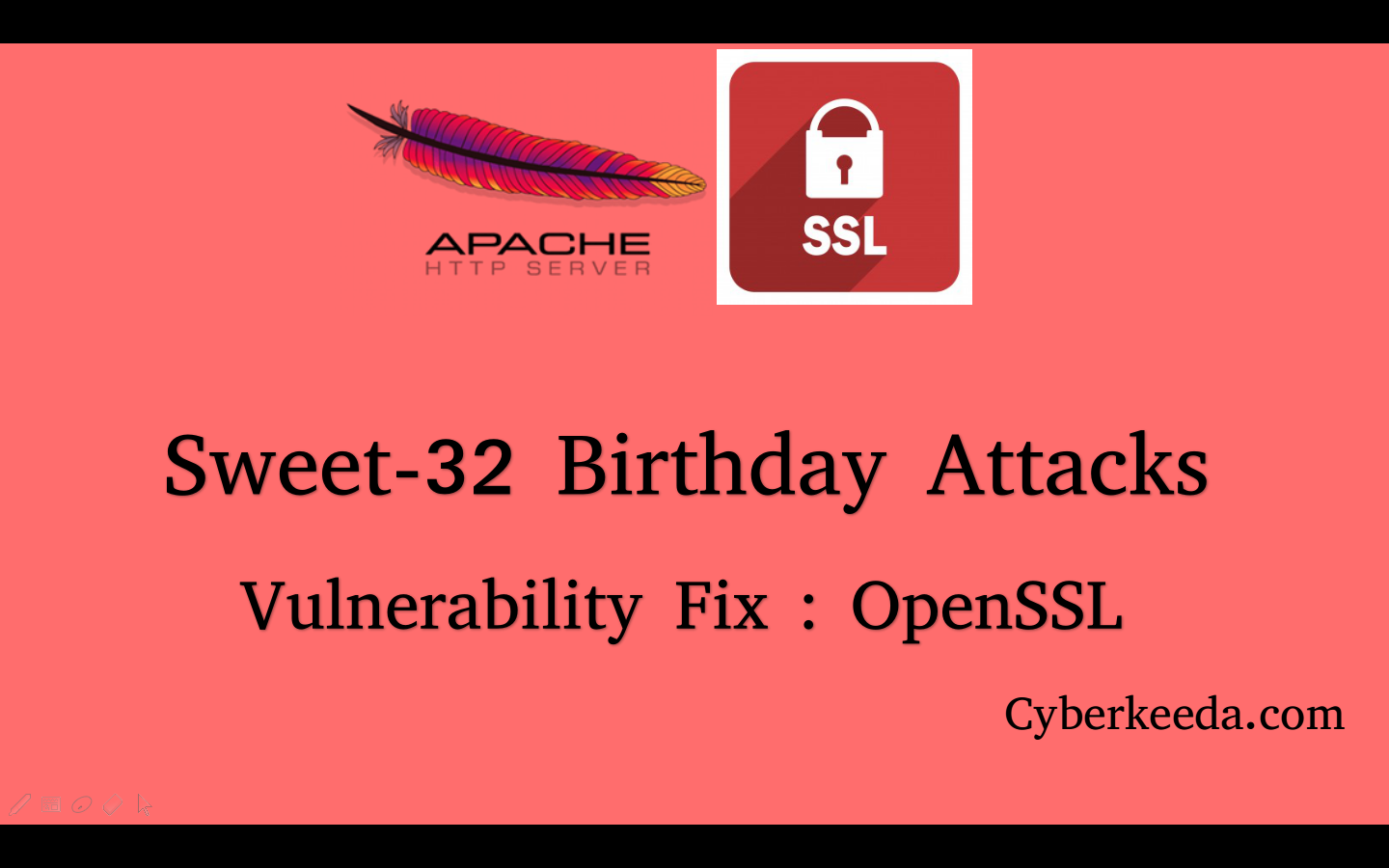 CyberKeeda: How to fix : OpenSSL Sweet 32 Birthday attack