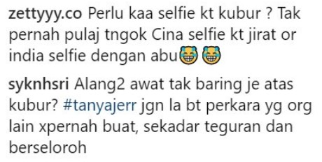 Netizen Persoal Tindakan Iqram Dinzly Selfie Di Kubur Ayah