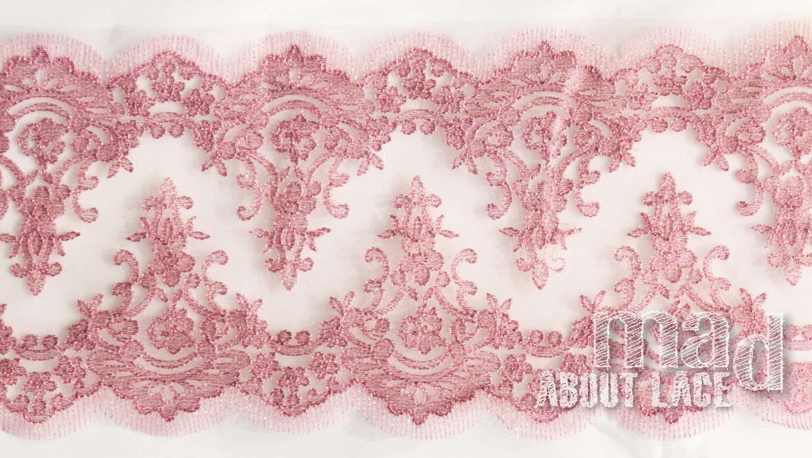 Mad About Lace: Dusty Pink