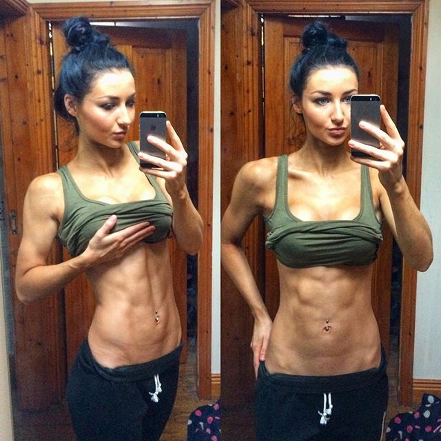 Fitness Model KADIE SMITH Instagram photos