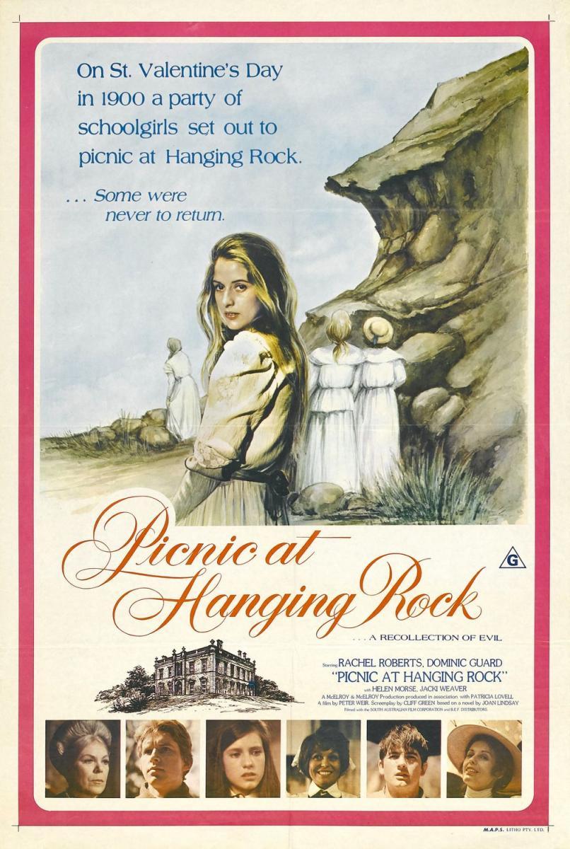 PICNIC EN HANGING ROCK (1975). Misterio en el sur de