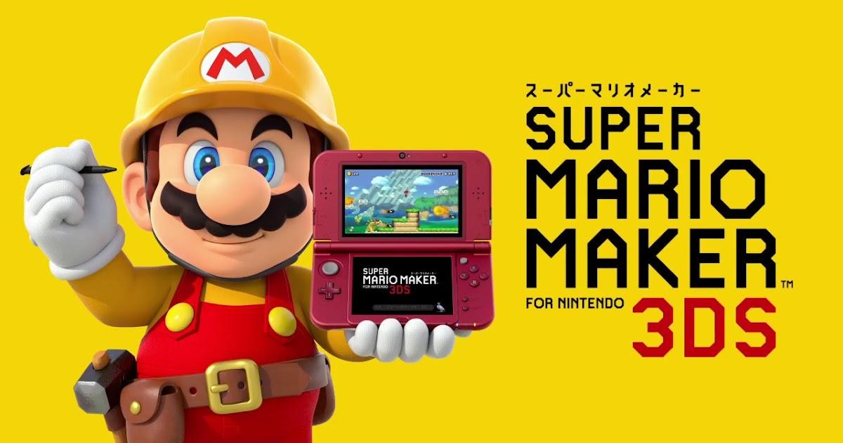 Reino do Cogumelo: Super Mario Maker for 3DS garante posição de ...
