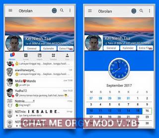 Download BBM MOD CHAT ME - Orgy Terbaru