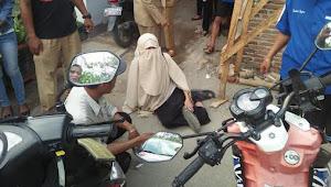 Kecelakaan, Dua Perempuan Bercadar Tolak Ditolong Lelaki
