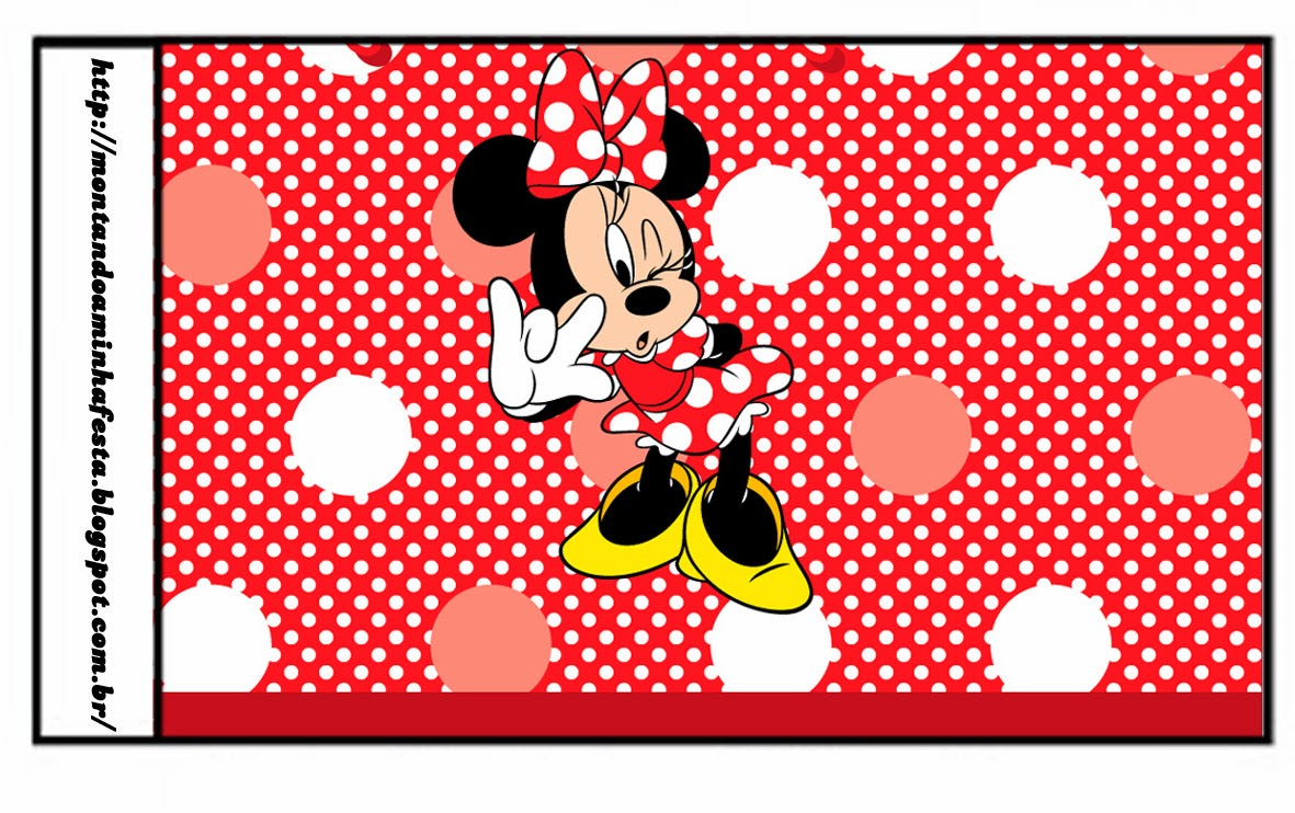 Para Mouse Minnie Como Invitaciones De Hacer Baby Shower
