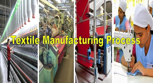 Textile manufacturing process