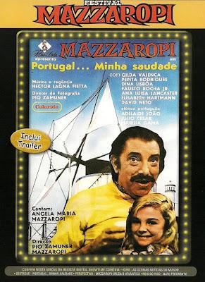 Mazzaropi: Portugal... Minha Saudade - DVDRip Nacional