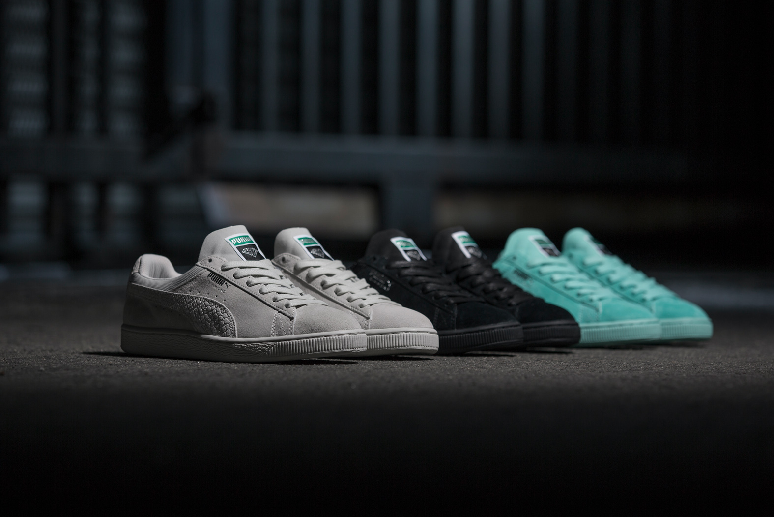 Not Your Average Skate Sneaker! The PUMA x Diamond Supply Co.  Classic Suede   Drops Soon! d3c6993e9