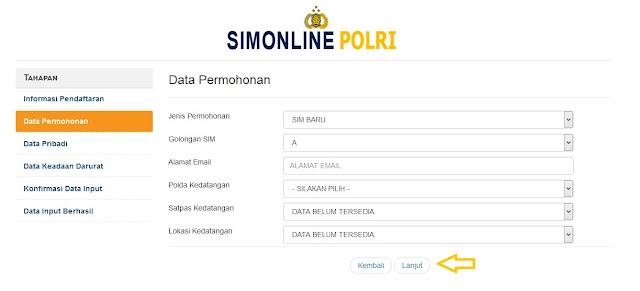 Cara Memperpanjang dan Membuat SIM Secara Online
