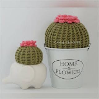 patron amigurumi Cactus canal crochet