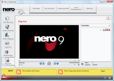 اليكم العملاق نيرو 9 Nero Free لحرق جميع الاسطوانات برابط مباشر