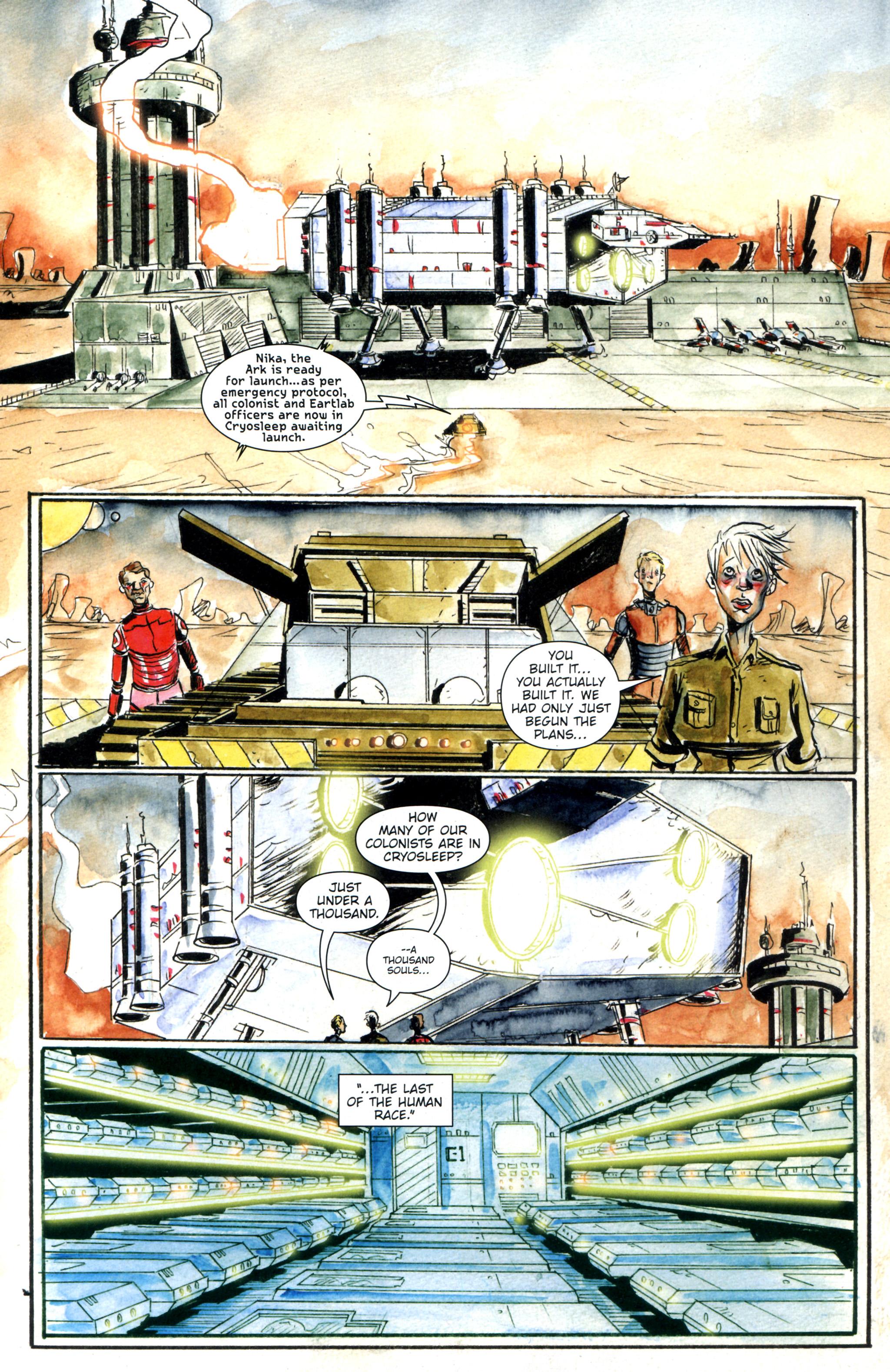 Read online Trillium comic -  Issue #8 - 5