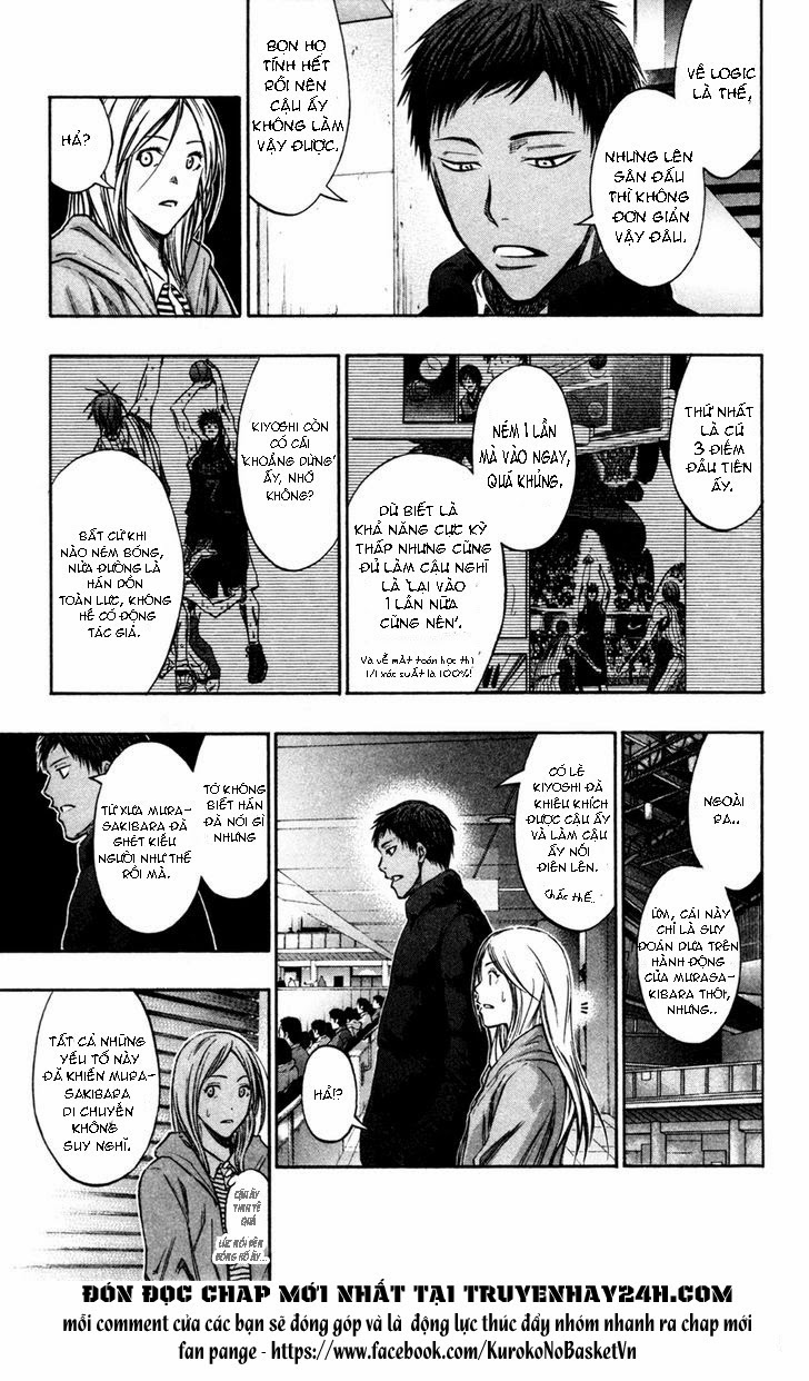 Kuroko No Basket chap 153 trang 8