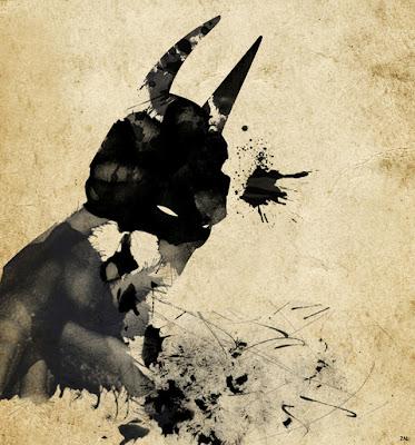 arte+salpicadura+batman