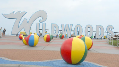The Famous WILDWOODS Sign in New Jersey