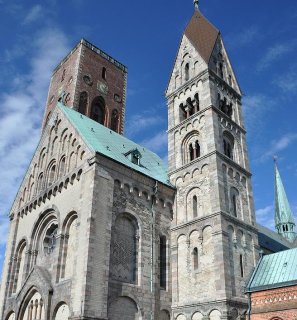 Romańska katedra w Ribe
