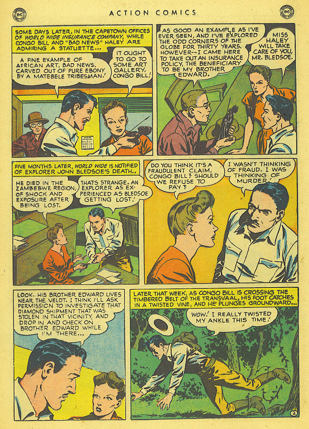 Read online Action Comics (1938) comic -  Issue #140 - 32