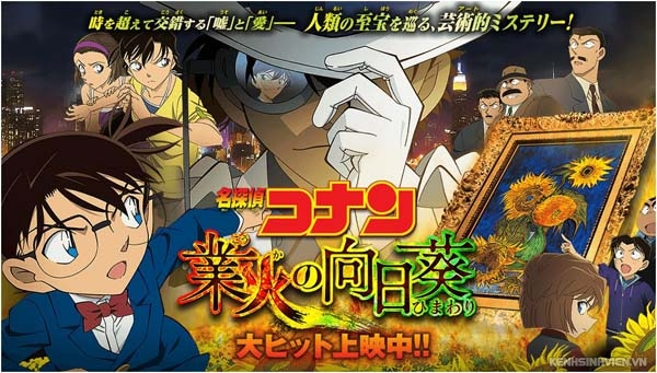 Detective Conan Movie 19 :Hoa Hướng Dương Của Biển Lửa - Detective Conan Movie 19: Sunflowers of Inferno (2015) VietSub (2015)