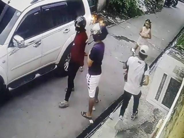 VIDEO; Tras asaltar a su padre, niña de ocho años taclea a ladrón armado.