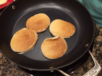 Pancakes on NuWave Induction Cooktop