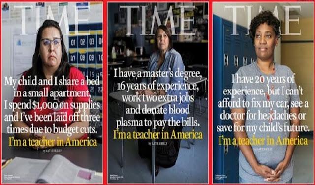 Πουλάνε μέχρι και το αίμα τους οι δάσκαλοι στις ΗΠΑ!