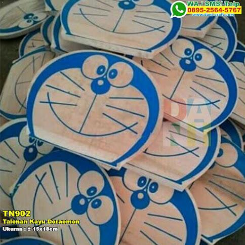 Talenan Kayu Doraemon