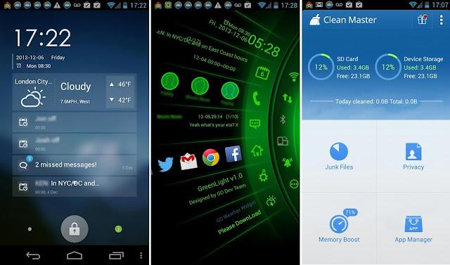 launcher android ringan dan hemat baterai