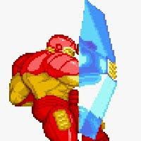 Escudo de energia do Homem de Ferro em Marvel Super Heroes